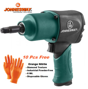 Jonnesway 1 2 Heavy Duty Air Impact Wrench With 2 Extended Anvil 480 Ft lbs