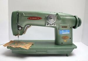 Consew 102 Free Motion Embroidery Zig Zag Industrial Sewing Machine Head Only