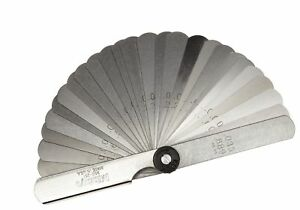 Mitutoyo 950 251 Thickness Feeler Gage Set 0 002 0 035 Thickness Straight