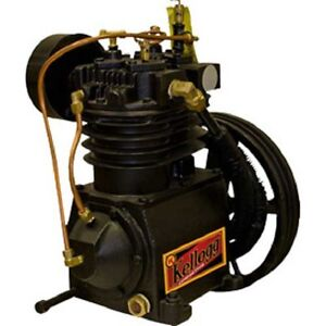 New Kellogg Two stage 5hp Air Compressor Pump