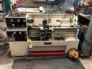 Jet Tools Model Gh 1340w 1 Engine Lathe 230v 1ph 13 swing 40 between Centers