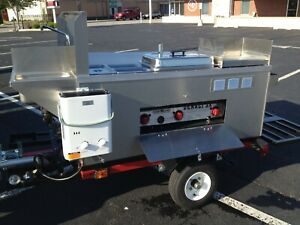 Nsf Big Dawg Hot Dog Mobile Food Cart Catering Trailer Kiosk Stand