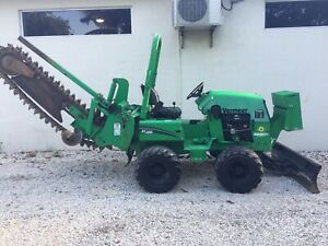 Vermeer Rtx450 Ride on Chain Trencher