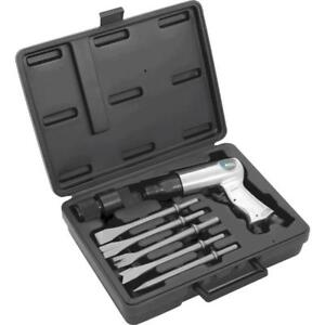 Pcl Apt517set Air Hammer Chisel Set With Tapered Chisels Case