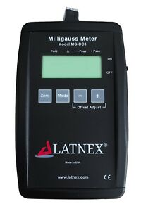 Mg dc3 Dc Milligauss Meter And Magnetometer