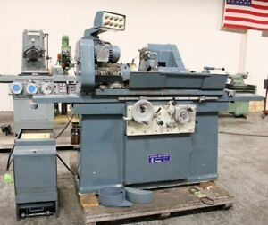 Jones Shipman Model 1300 10 X 27 cc Universal Cylindrical Grinder new 1979