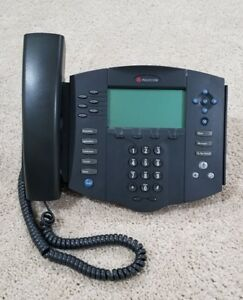 Polycom Soundpoint Ip 601 Sip Voip Poe Business Phone 2201 11601 001