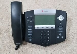 Polycom Soundpoint Ip650 Sip Voip Business Phone 2201 12630 001
