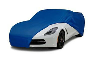 Universal Fit Indoor Outdoor Light Car Dust Cover Blue 1953 2018 Corvette