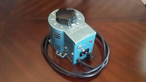 Staco Energy Products Type 2pf1010 Variable Autotransformer