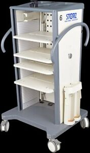 Karl Storz Medical Laboratory Mobile Endoskope Video Tower Cart Stand 9606 2