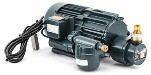 Becker Vtc6 2 09 Oil less Rotary Vane Vacuum Pump W electric Motor 3kw 1730 Rpm