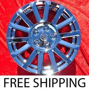 Exchange Set Of 4 Chrome 17 Cadillac Cts Factory Oem Wheels Rims 4668