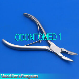 6 Pieces Mead Bone Rongeurs 6 Surgical Orthopedic Instruments