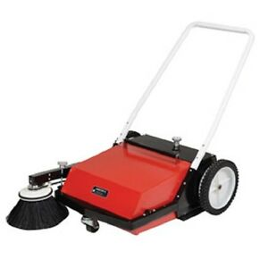 New Vestil Manual Brush Sweeper