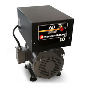 American Rotary Ad10fm Floor Mount Ad Series 10hp Rotary Phase Converter 240v