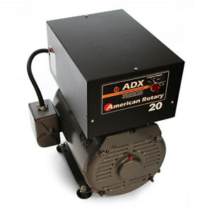 American Rotary Adx20fm floor Mount Adx Series 20hp Rotary Phase Converter 240v