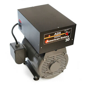 American Rotary Adx30fm floor Mount Adx Series 30hp Rotary Phase Converter 240v