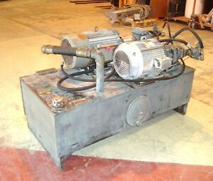 Twin Motor Hydraulic Power Pack