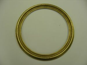 16 Round Picture Frames Antique Gold Lot Of 1 Free Shipping
