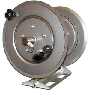 New Stainless Steel Pressure Washer Hose Reel 5000 Psi 250 Capacity