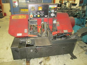 Amada Ha 250w 10 X 10 250 Fpm 5 Hp 230 460 Automatic Horizontal Band Saw