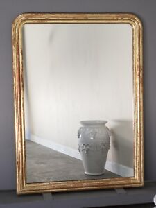 Antique French Louis Philippe Mirror From France Circa 1885