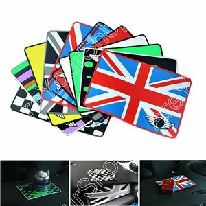 Union Jack Anti Slip Sticky Phone Coin Pad For Mini Cooper Clubman Countryman Us