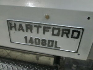 Hartford Model 1408dl Engine Lathe 15 swing 29 5 Between Centers 2k Rpm Spindle