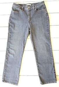 LEE Classic Fit At The Waist Women's Jeans Size 12 Petite Medium Wash FREE SHIP