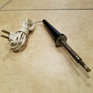 Weller Sp 40 Sp 40 Made In Usa Soldering Iron Vintage Steampunk 40w 120v Tool