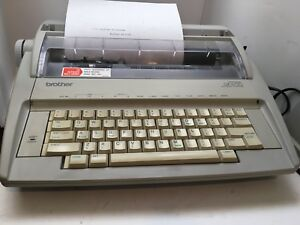 Brother Gx 6750 Daisywheel Portable Electric Typewriter Excellent Condition