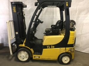 2013 Yale 5000 Forklift Cushion 3 Stage Lp Glc050vx Sideshifter