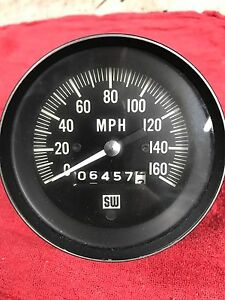 Price Reduced Vintage Stewart Warner Speedometer 3 3 8