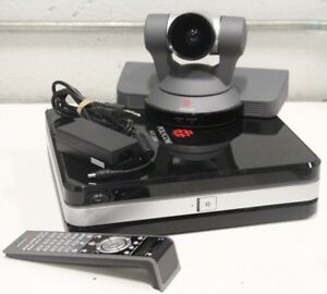 Polycom Hdx 8000 Conference Unit With Mptz 7 Camera Mic Remote And Ac Adapter