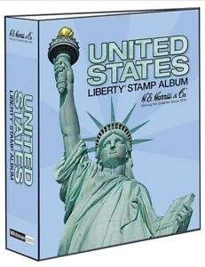 He Harris Stamp Album Traditional Us Liberty Binder 3 Inch 2 Post New Durable