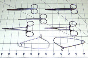 Precision Surgical Scissors Stainless Steel Germany Fst Witte Qty 5 Units