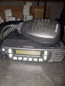 Kenwood Nexedge Nx 800h k high Powered 45watt Uhf Mobile Radio 450 512mhz