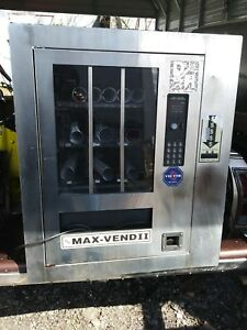 Wall Mount Snack Food Candy Vending Machine Used