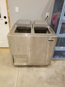 Delfield Shelleymatic Commercial Self Contained free Standing Ice Cream Freezer