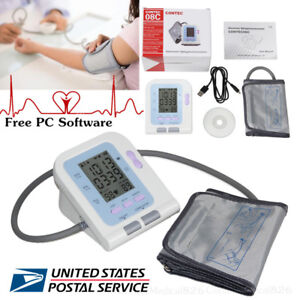 Contec08c Digital Blood Pressure Monitor Nibp Monitor Pc Software Arm Adult Cuff