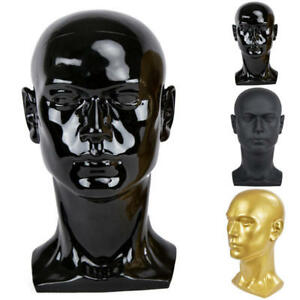 3 Colors Mannequin Manikin Head Model Vip Pro Wig Glasses Hat Display Wig Stand