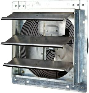 Iliving Shutter Exhaust Fan 800 Cfm Power 12in Variable Speed Ventilation Vent