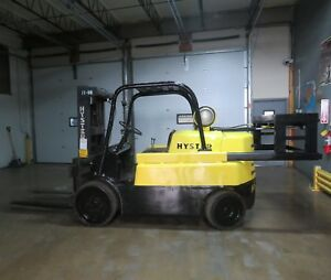 Hyster S150a 15 000 Lbs Capacity Forklift W Retractable Hydraulic Counter Weight