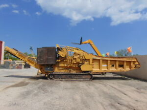 2010 Vermeer Hg6000 tx Horizontal Grinder Mulcher Wood Chipper 755 Hp Cat Turbo