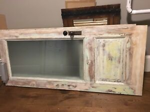 Antique Victorian Style Entry Door C 1890 To Early 1900 Architectural Salvage