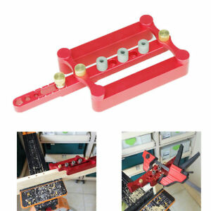 6 8 10mm Self Centering Dowelling Jig Metric Dowel Drilling Tool Woodworking