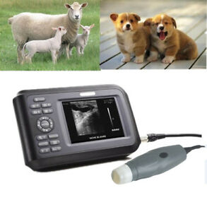 Usa Veterinary Ultrasound Scanner Portable Rectal Probe Animal Pregnancy Machine