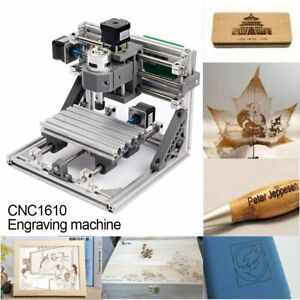 Mini 3 Axis Cnc Router Engraver Pcb Pvc Milling Wood Carving Engraving Machinekc