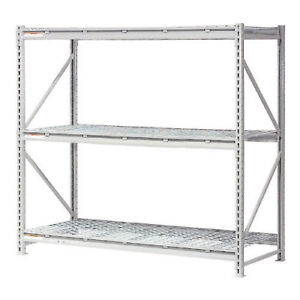 Extra High Capacity Bulk Rack With Wire Decking Starter Unit 72 w X 18 d X